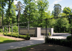 Urnenwand Kolumbarium K2 Waldfriedhof Herrenberg Urnenwandmanufaktur Neher+Partner