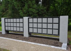 Urnenwand Kolumbarium K2 Waldfriedhof Boeblingen Urnenwandmanufaktur Neher+Partner