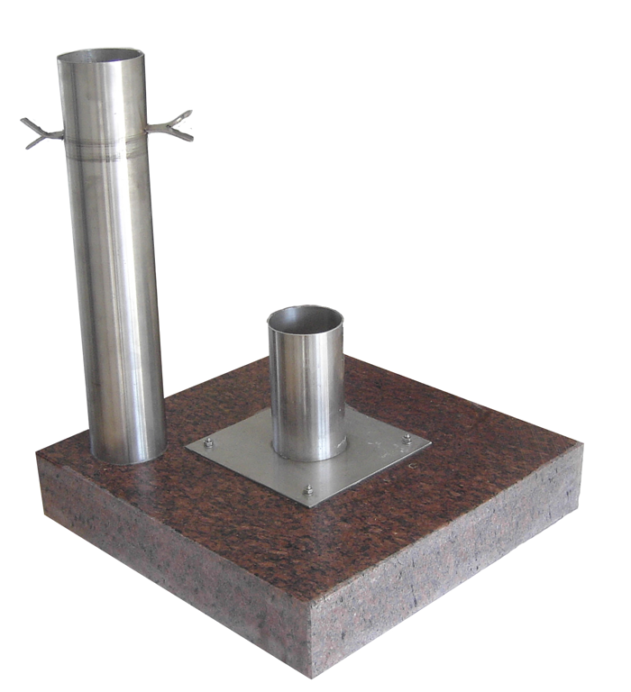 Befestigungsset für Urnenplatten Urnenwandmanufaktur Neher+Partner